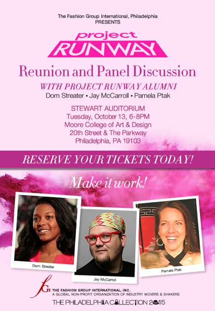Project Runway Reunion and Panel Discussion