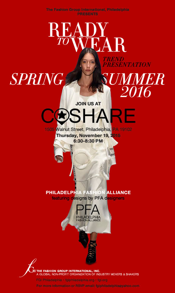 Spring/Summer 2016 Trend Event
