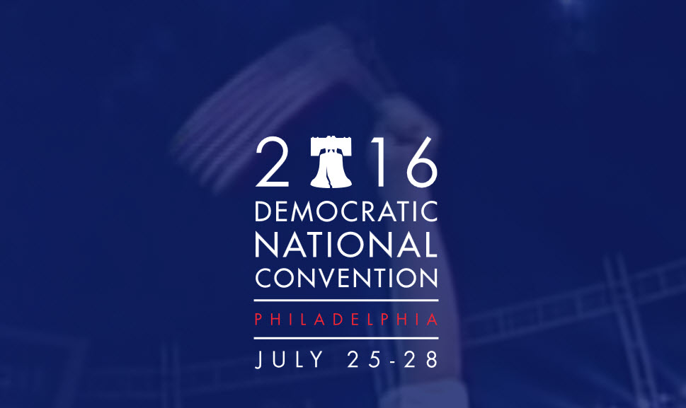 democratic national convention, philadelphia, 2016
