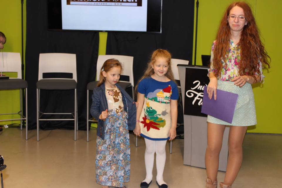 Luba Khramova Owner of Emily Rise Childrenwear her and daughters